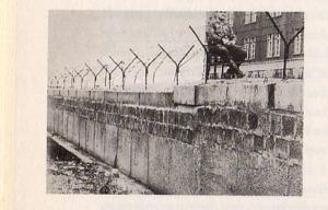 Berliner Mauer um 1963