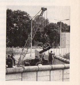 Berliner Mauer um 1974