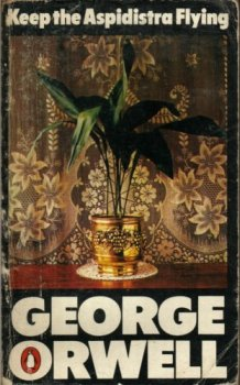 Orwell Book cover keep the aspidistra flying