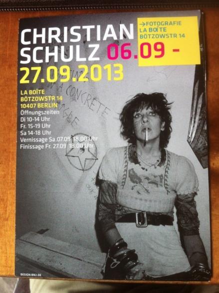 Christian Schulz Exhibition La Boite sept 2013a