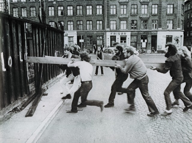 Stormningen av Christiania, september 1971.