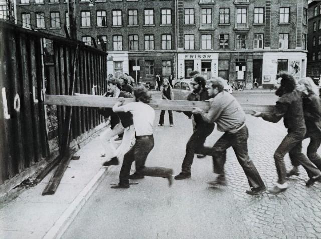 Stormningen av Christiania, september 1971.