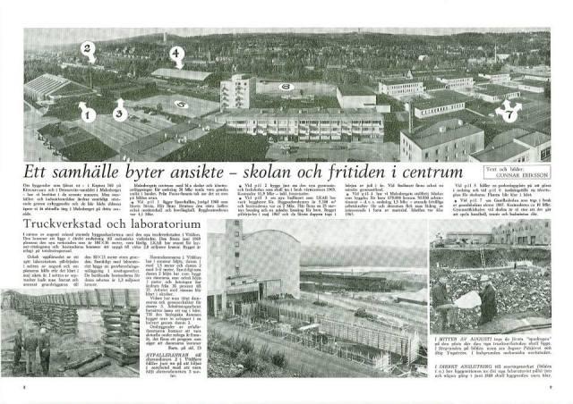 En dubbel planeringsrörelse i Malmberget: nedmontering och modernisering. Norrlandsfolket 1968.
