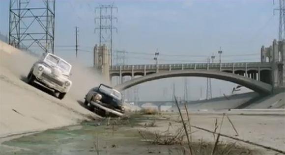 Biljakt i filmen Grease, 1978
