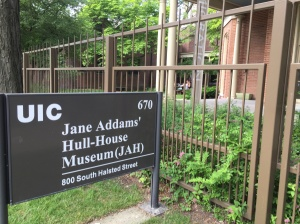 Hull House, UIC Campus. Foto: HF.