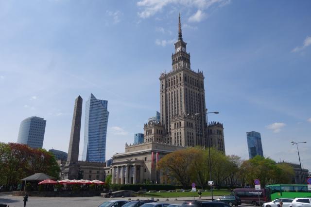 Kulturpalatset i Warszawa. Foto: HF.