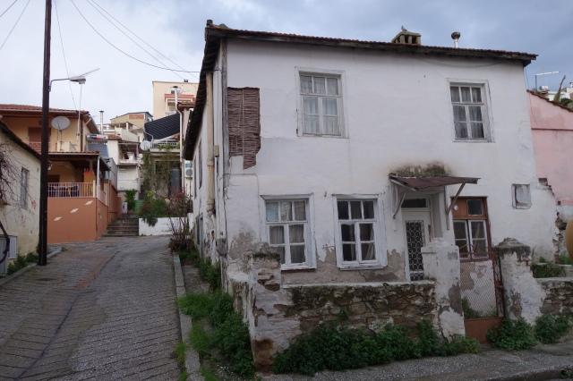 De små huset i Agia Varvara, uppförda för flyktingfamiljer som kom till Kavalla från Mindre Asien under 1920-talet.